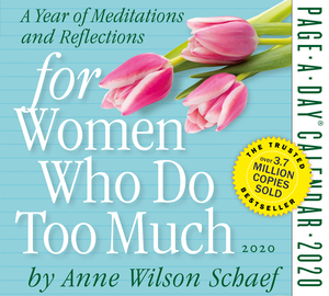 For Women Who Do Too Much Page-A-Day Calendar 2020 - cover