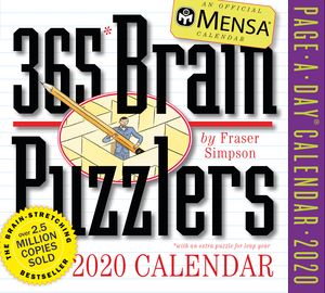 Mensa 365 Brain Puzzlers Page-A-Day Calendar 2020 - cover
