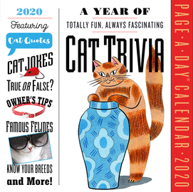 A Year of Cat Trivia Page-A-Day Calendar 2020 - cover