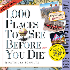 1,000 Places to See Before You Die Page-A-Day Calendar 2020 - cover