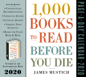 1,000 Books to Read Before You Die Page-A-Day Calendar 2020 - cover