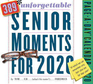 389* Unforgettable Senior Moments Page-A-Day Calendar 2020 - cover