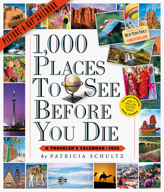 1,000 Places to See Before You Die Picture-A-Day Wall Calendar 2020 - cover