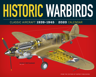 Historic Warbirds Wall Calendar 2020 - cover
