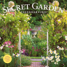 Secret Garden Wall Calendar 2020 - cover