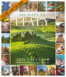 365 Days in Italy Picture-A-Day Wall Calendar 2020 - cover