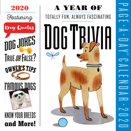 A Year of Dog Trivia Page-A-Day Calendar 2020 - cover