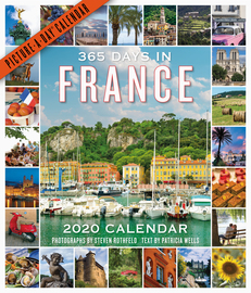 365 Days in France Picture-A-Day Wall Calendar 2020 - cover