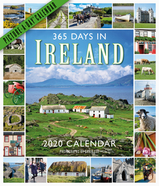 365 Days in Ireland Picture-A-Day Wall Calendar 2020 - cover
