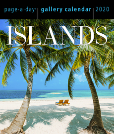Islands Page-A-Day Gallery Calendar 2020 - cover