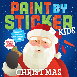 Paint by Sticker Kids: Christmas - cover