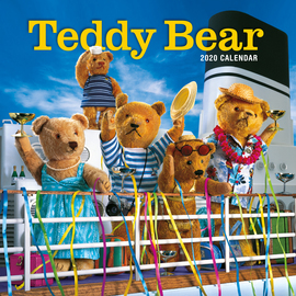 Teddy Bear Wall Calendar 2020 - cover