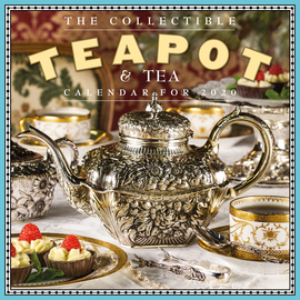 Collectible Teapot & Tea Wall Calendar 2020 - cover
