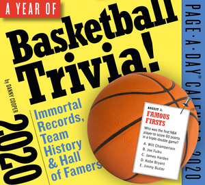 A Year of Basketball Trivia! Page-A-Day Calendar 2020 - cover