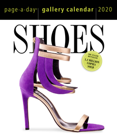 Shoes Page-A-Day Gallery Calendar 2020 - cover