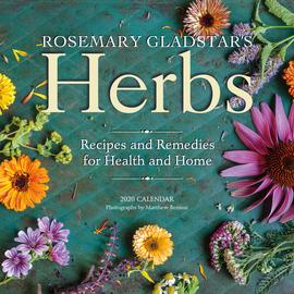Rosemary Gladstar's Herbs Wall Calendar 2020 - cover
