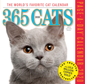 365 Cats Page-A-Day Calendar 2020 - cover