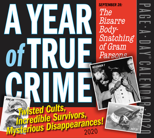 A Year of True Crime Page-A-Day Calendar 2020 - cover