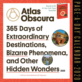 Atlas Obscura Page-A-Day Calendar 2020 - cover