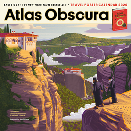Atlas Obscura Wall Calendar 2020 - cover