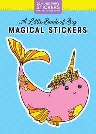 A Little Book of Big Magical Stickers - cover
