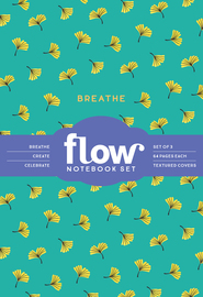 Breathe, Create, Celebrate Notebook Set - cover