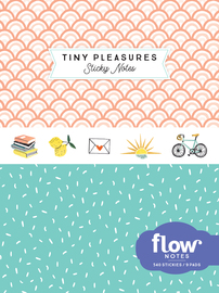 Tiny Pleasures Sticky Notes - cover