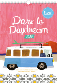 Dare to Daydream Wall Calendar 2020 - cover
