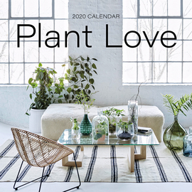 Plant Love Wall Calendar 2020 - cover