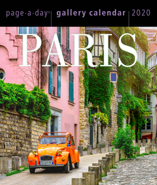 Paris Page-A-Day Gallery Calendar 2020 - cover