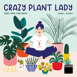 Crazy Plant Lady Mini Wall Calendar 2020 - cover