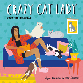 Crazy Cat Lady Mini Wall Calendar 2020 - cover