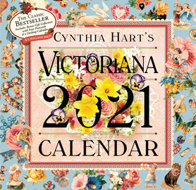 Cynthia Hart's Victoriana Wall Calendar 2021 - cover
