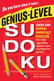 Genius-Level Sudoku - cover