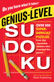 Genius-Level Sudoku - cover