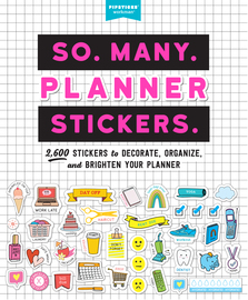 So. Many. Planner Stickers. - cover