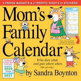 Mom's Family Wall Calendar 2021 - cover