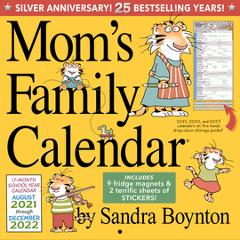Mom's Family Wall Calendar 2022 - cover