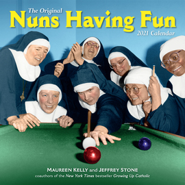 Nuns Having Fun Wall Calendar 2021 - cover