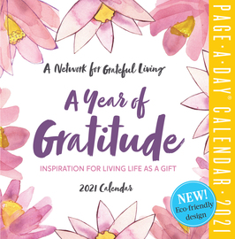 A Year of Gratitude Page-A-Day Calendar 2021 - cover