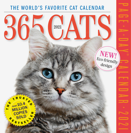 365 Cats Page-A-Day Calendar 2021 - cover