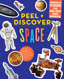 Peel + Discover: Space - cover