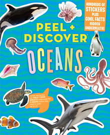 Peel + Discover: Oceans - cover