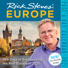 Rick Steves' Europe Page-A-Day Calendar 2021 - cover