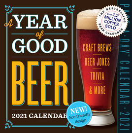 Year of Good Beer Page-A-Day Calendar 2021 - cover