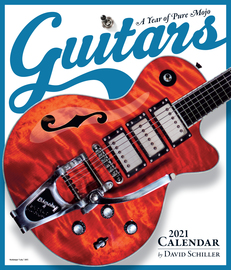 Guitars Wall Calendar 2021 - cover
