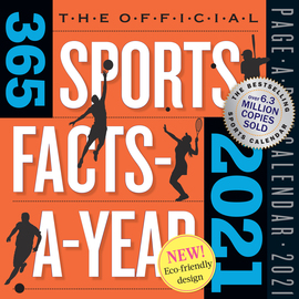 Official 365 Sports Facts-A-Year Page-A-Day Calendar 2021 - cover
