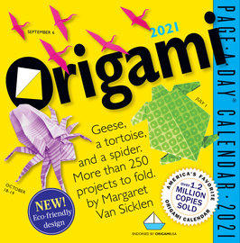 Origami Page-A-Day Calendar 2021 - cover