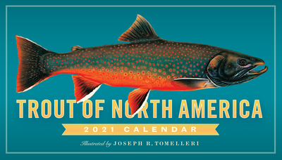 Trout of North America Wall Calendar 2021 - cover