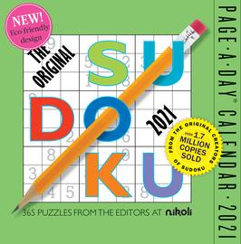 Original Sudoku Page-A-Day Calendar 2021 - cover
